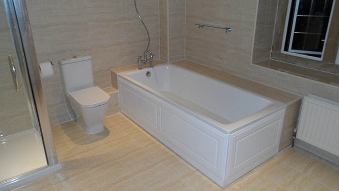 Bathroom installation finishes