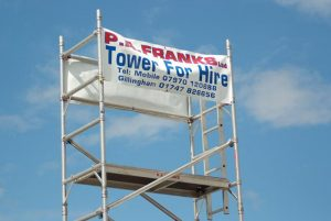 Hire Mobile Scaffold Tower