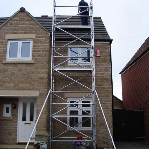 What is the best portable scaffolding hire